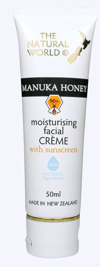 The Natural World Manuka Honey Moisturising Facial Creme