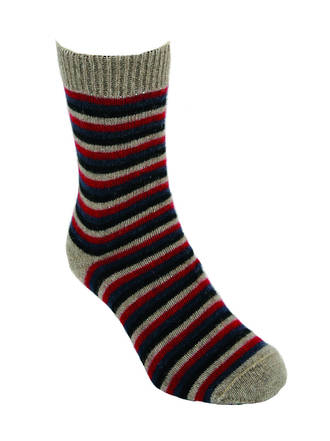 9953 Multi Coloured Stripe Sock