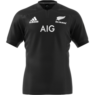 2017 All Blacks Home  Jersey Short Sleeve - Small, Medium and Large ONLY