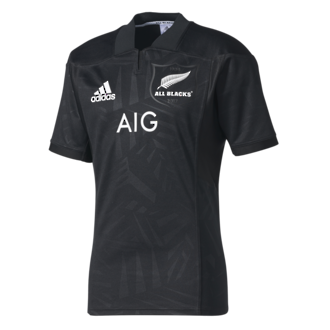 2017 All Blacks Home  Jersey Short Sleeve - Limited Edition for British & Irish Lions Tour