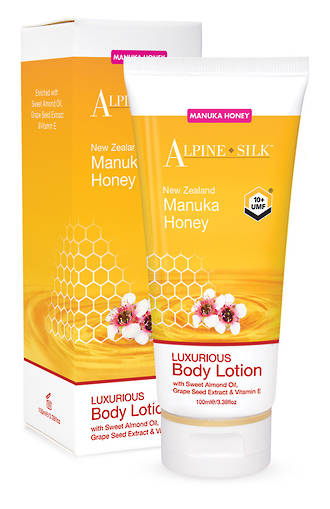 Alpine Silk Manuka Honey - Body Lotion