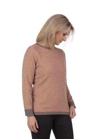 NB747 Crew Neck Striped Sweater
