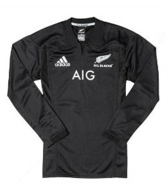 2017All Blacks Home Jersey  Long Sleeve