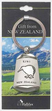 Keyring Iconic Kiwi Design which swivels