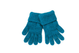 KO310 Koru Moss Stitch Gloves