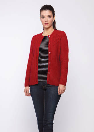 KO517 Bobble Cardigan