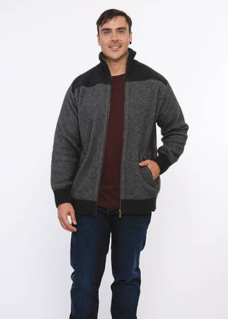 KO824 Koru Leather Trim Jacket