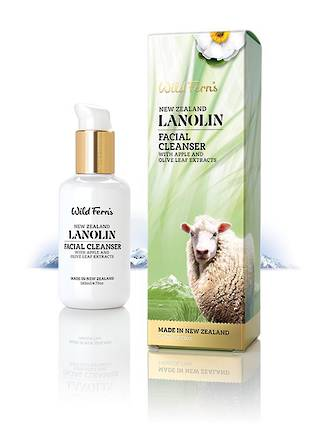 Wild Ferns Lanolin Facial Cleanser 140ml