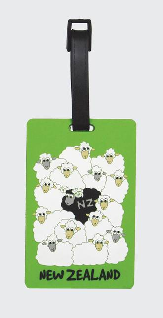 Luggage Tag of New Zealand - Sheep