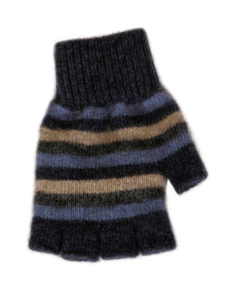 9965 Stripe Fingerless Glove