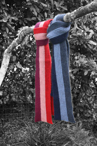 Cosy Kids Child's Stripe Scarf