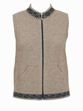 9973 Motif Vest with pockets
