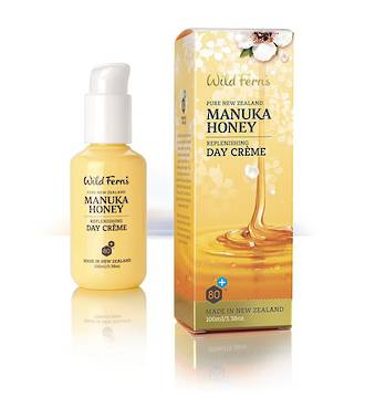 Wild Ferns Manuka Honey Replenishing Day Crème