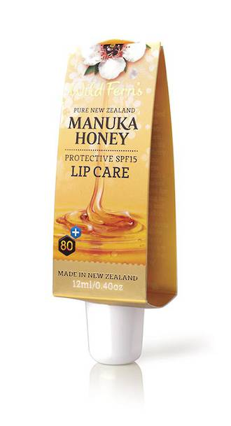 Wild Ferns Manuka Honey Protective SPF15 Lip Care