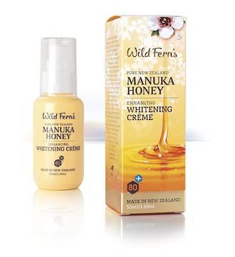 Wild Ferns Manuka Honey Enhancing Whitening Crème