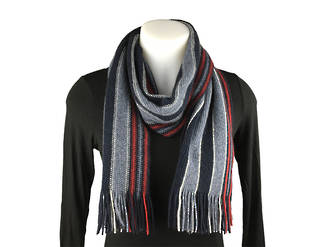 NX403 College Stripe Scarf