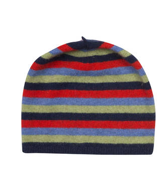 NX707 Childrens Striped Beanie