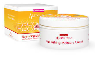 Alpine Silk Manuka Honey - Nourishing Moisture Creme - 100gm