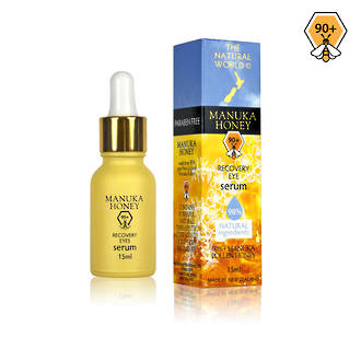 The Natural World Manuka Honey Recovery Eye Serum 15ml