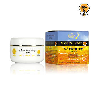 The Natural World Manuka Honey Soft Moisturising Creme-100ml