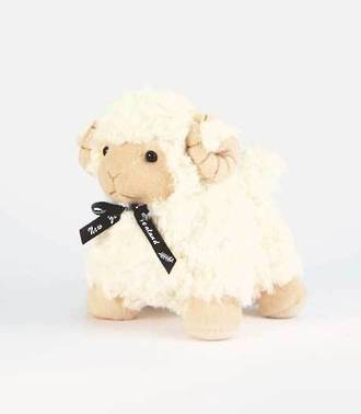 "Ram standing 25cm with Black Ribbon with""BAA"" sound - E23857"