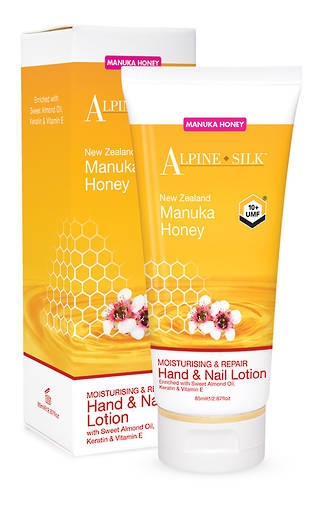 Alpine Silk Manuka Honey - Hand & Nail Lotion