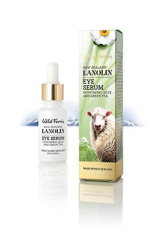 Wild Ferns Lanolin Eye Serum 15ml