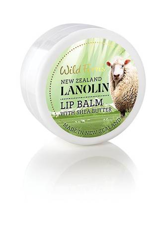 Wild Ferns Lanolin Lip Balm