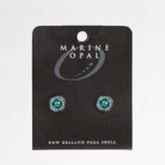 MOE106 - Marine Opal Stud Design Earrings