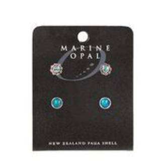MOE 117 Marine Opal Four Stud Earrings