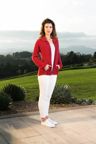 KO760 Koru Textured Zip Jacket