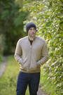 NS234 Mens Rib Feature 2 Tone Jacket with Pockets
