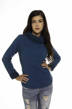 KO471 Koru Two Tone Jumper