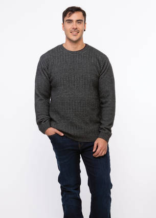 KO853 Textured Front Jumper