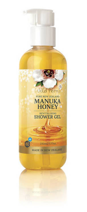 Wild Ferns Manuka Honey Revitalising Shower Gel