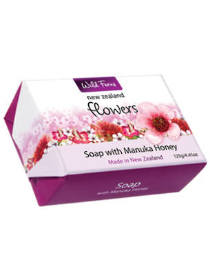 New Zealand Flowers Soap with Manuka Honey 125g