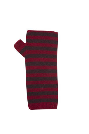 NX690 Two Tone Striped Wrist Warmer - Seamless