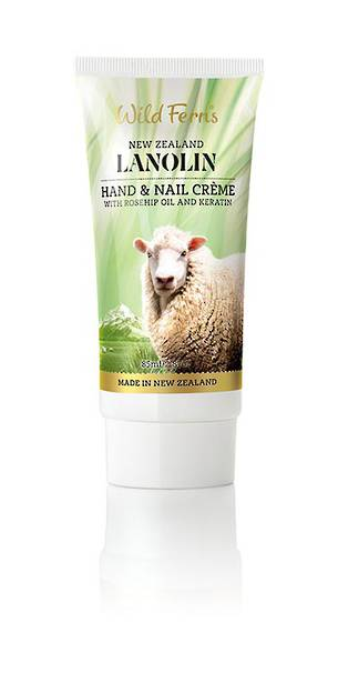 Wild Ferns Lanolin Hand and Nail Creme
