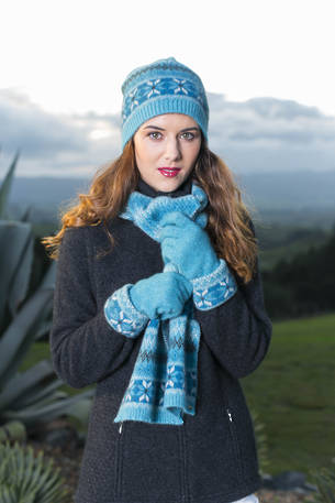 KO302 Koru Jacquard Gloves- ON SALE