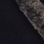 Fur trim swatch black snowtip-555