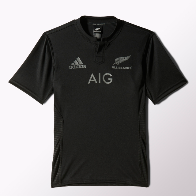 2015 All Blacks Home Jersey Short Sleeve