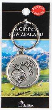 Key Ring and Bottle opener of New Zealand