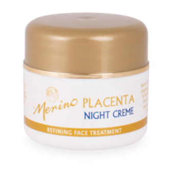 Merino Placenta Night Creme - with vitamins B5, C, E and Propolis
