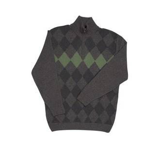NE400 Diamond Half Zip Sweater