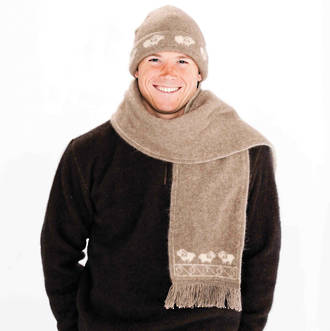 KO108 Koru Sheep Scarf