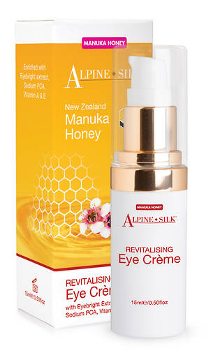 Alpine Silk Manuka Honey - Revitalising Eye Creme