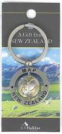 Keyring Map of New Zealand