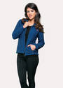 KO478 Koru Shaped Zip Jacket