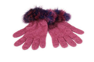 KO56 Koru Fur Trim Gloves