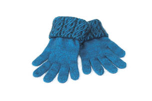 KO67 Koru Two Tone Cable Gloves